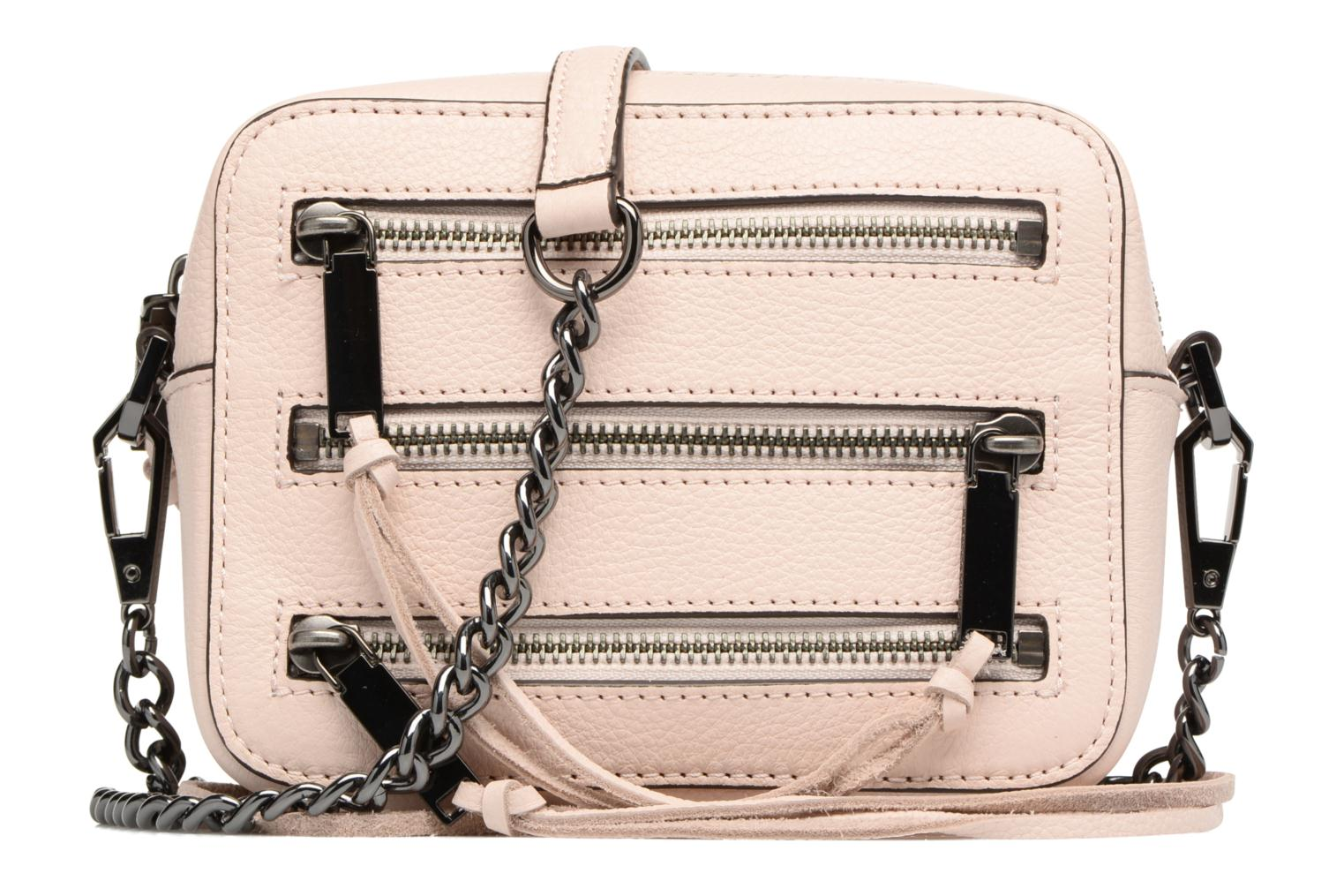 Handtassen Rebecca Minkoff 4 ZIP MOTO CAMERA BAG Roze detail
