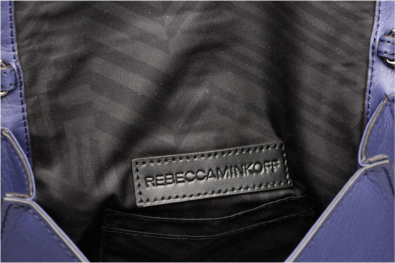 Handtaschen Rebecca Minkoff CHEVRON QUILTED SMALL LOVE CRO blau ansicht von hinten