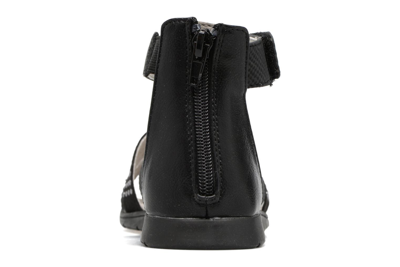 Sandales et nu-pieds Bullboxer Katia Noir vue droite