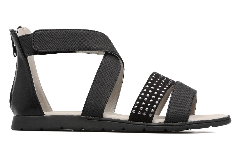Sandales et nu-pieds Bullboxer Katia Noir vue derrière