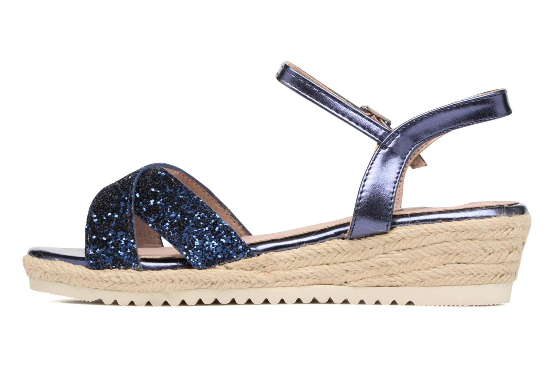 Sandales et nu-pieds Xti Aldana Bleu vue face