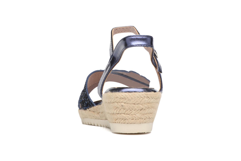Sandales et nu-pieds Xti Aldana Bleu vue droite