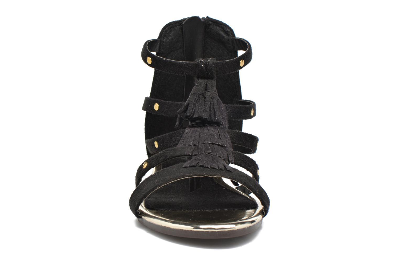 Sandales et nu-pieds Xti Hanna Noir vue portées chaussures
