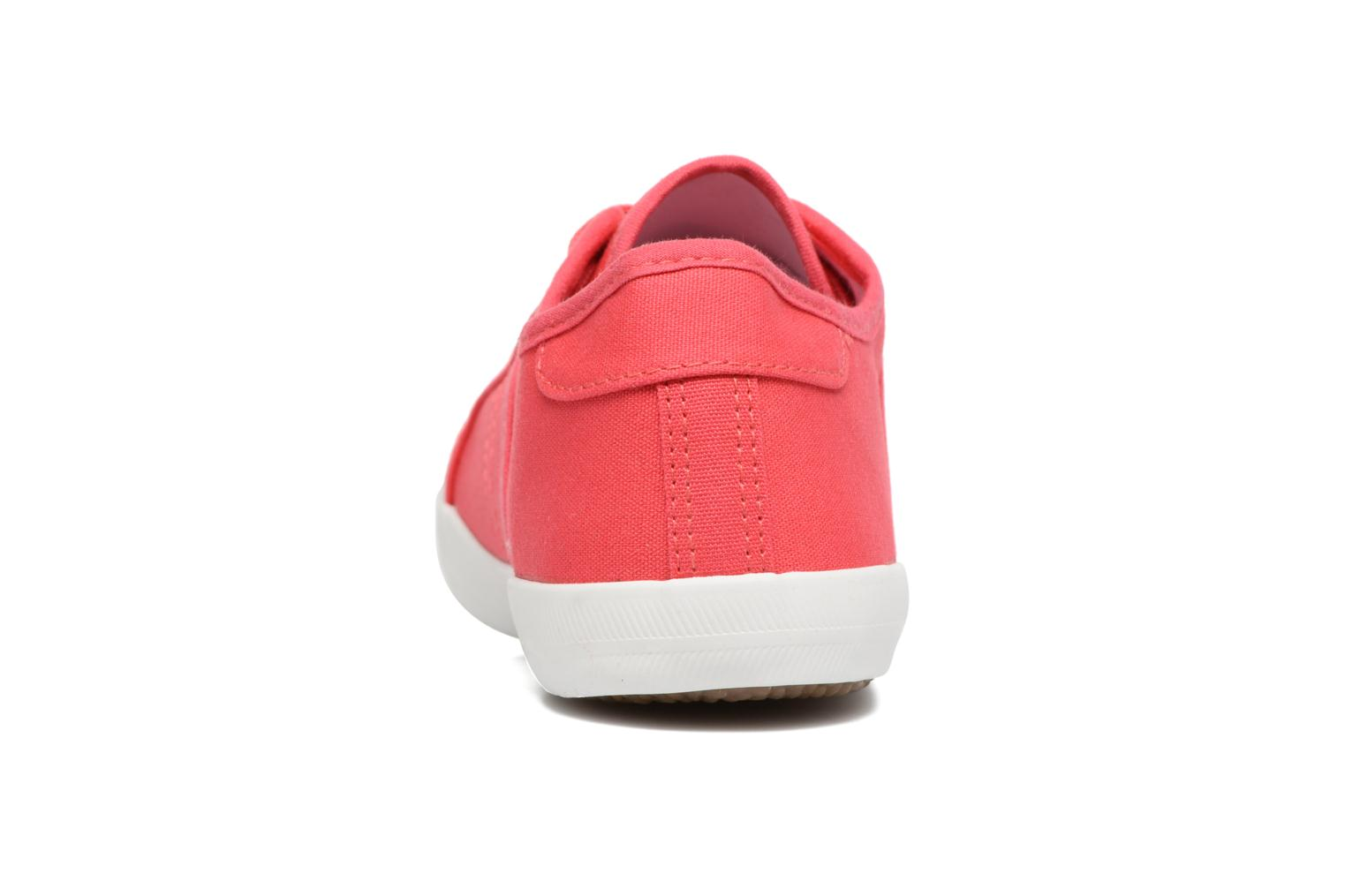 Baskets I Love Shoes GOLCAN Rose vue droite