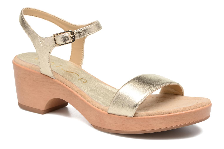 Irita 3 - Sandales Pour Les Femmes / Or Et De Bronze Unisa dxnXA4