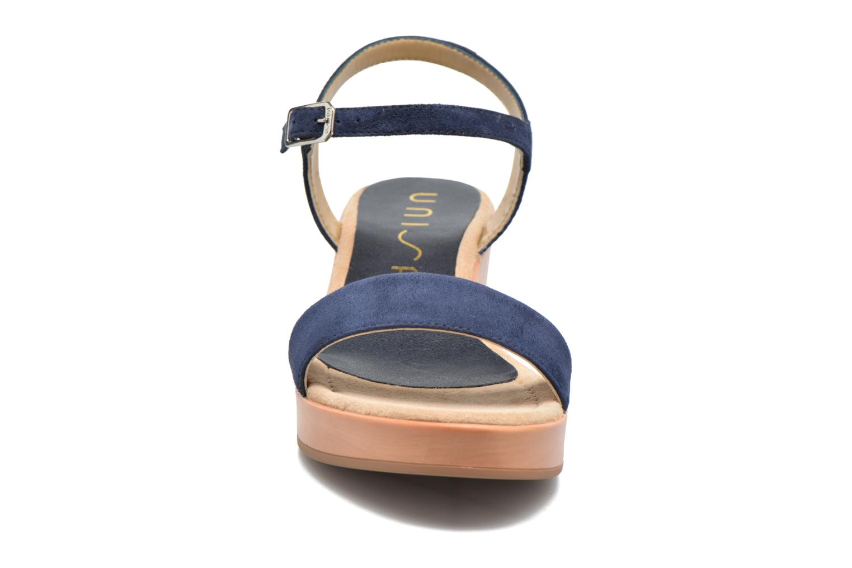 Sandales et nu-pieds Unisa Irita 2 Bleu vue portées chaussures