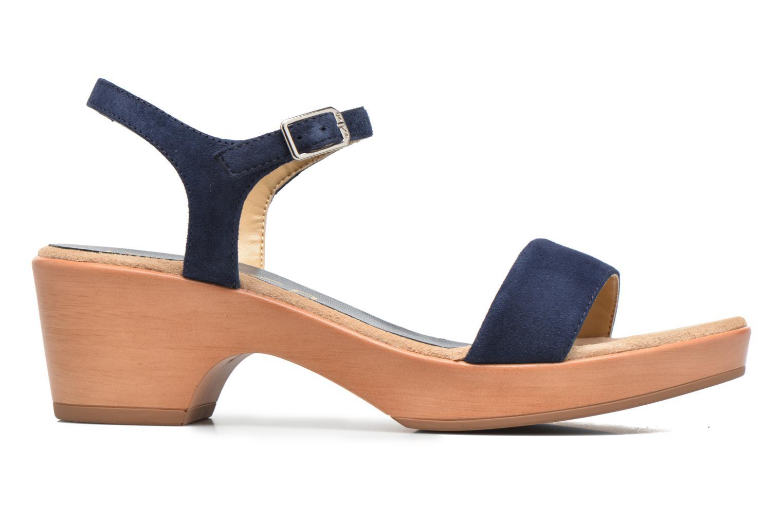 Sandales et nu-pieds Unisa Irita 2 Bleu vue derrière