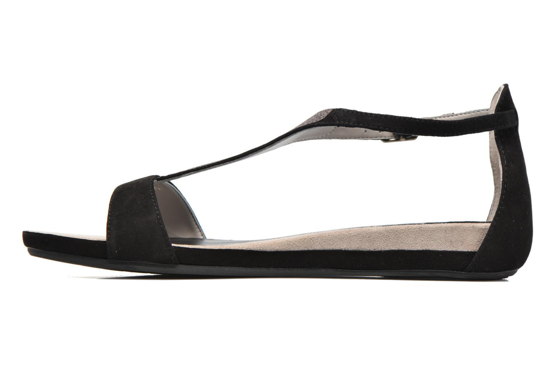 Sandales et nu-pieds Unisa Apice Noir vue face