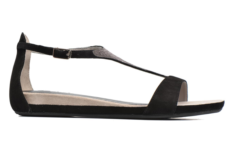 Sandales et nu-pieds Unisa Apice Noir vue derrière