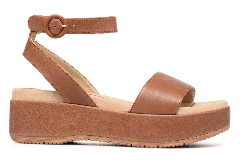 Sandales et nu-pieds Unisa Bueno Marron vue derrière
