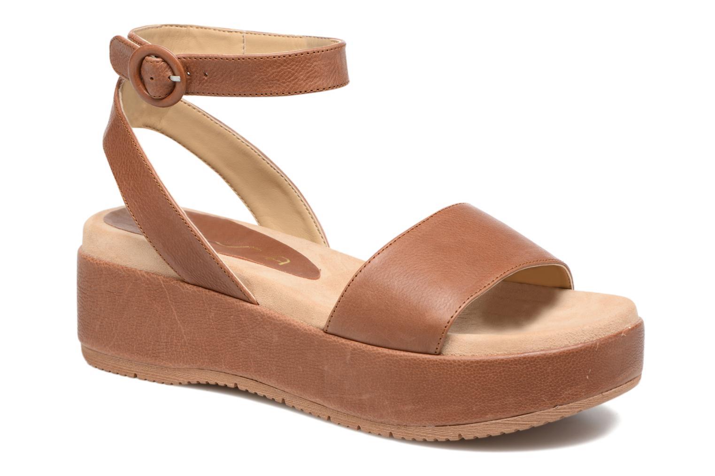 Sandales et nu-pieds Unisa Bueno Marron vue détail/paire