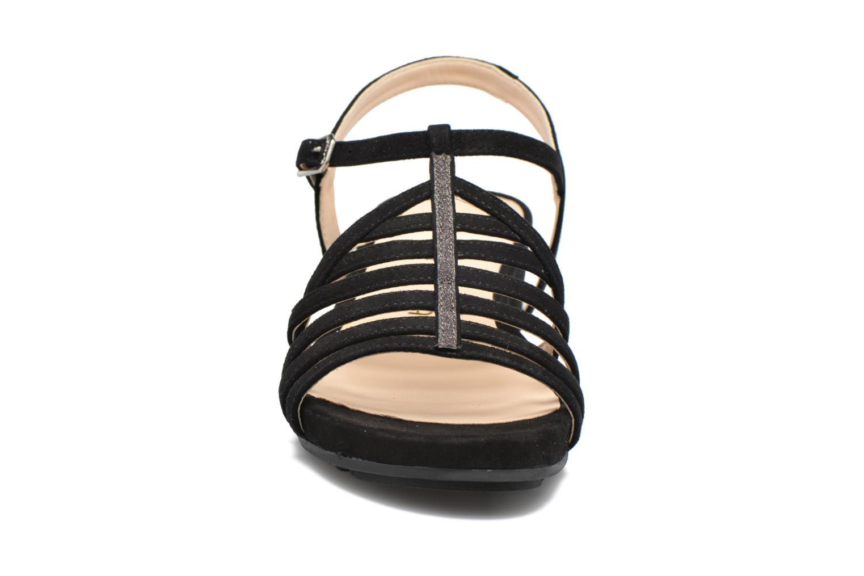Sandales et nu-pieds Unisa Betis Noir vue portées chaussures