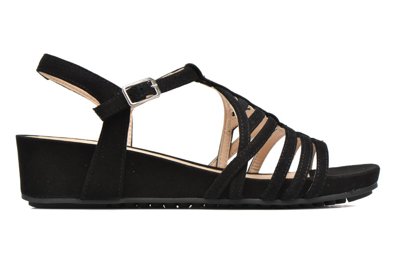 Sandales et nu-pieds Unisa Betis Noir vue derrière