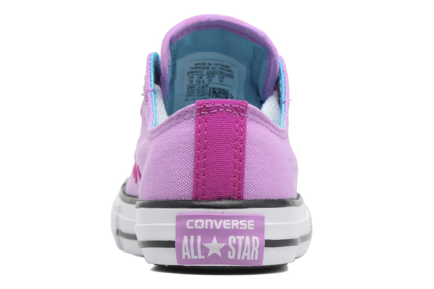 Sneakers Converse Chuck Taylor All Star Loopholes Ox Lilla Se fra højre