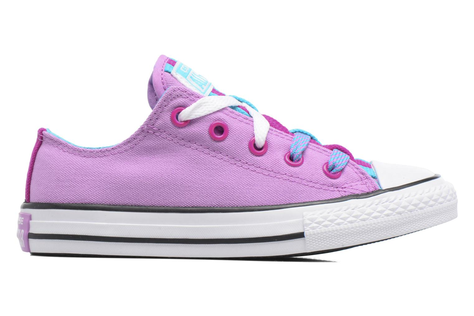 Sneakers Converse Chuck Taylor All Star Loopholes Ox Paars achterkant