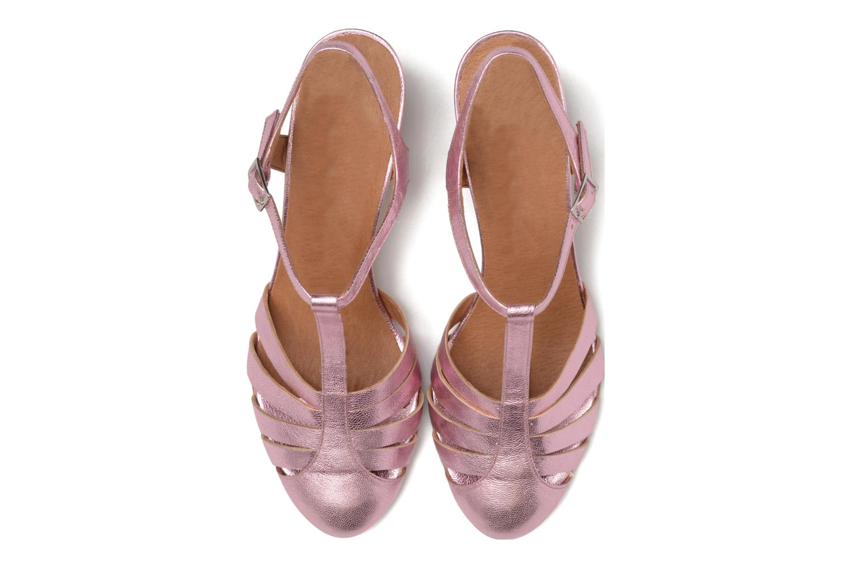 Sandali e scarpe aperte Made by SARENZA Donut hut #11 Rosa modello indossato