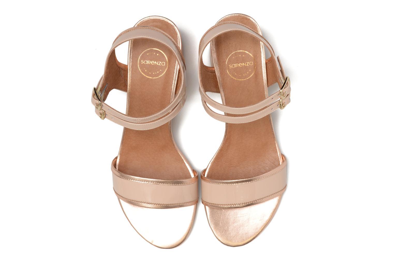 Sandales et nu-pieds Made by SARENZA Pastel Belle #11 Rose vue portées chaussures