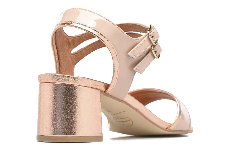 Sandales et nu-pieds Made by SARENZA Pastel Belle #11 Rose vue face