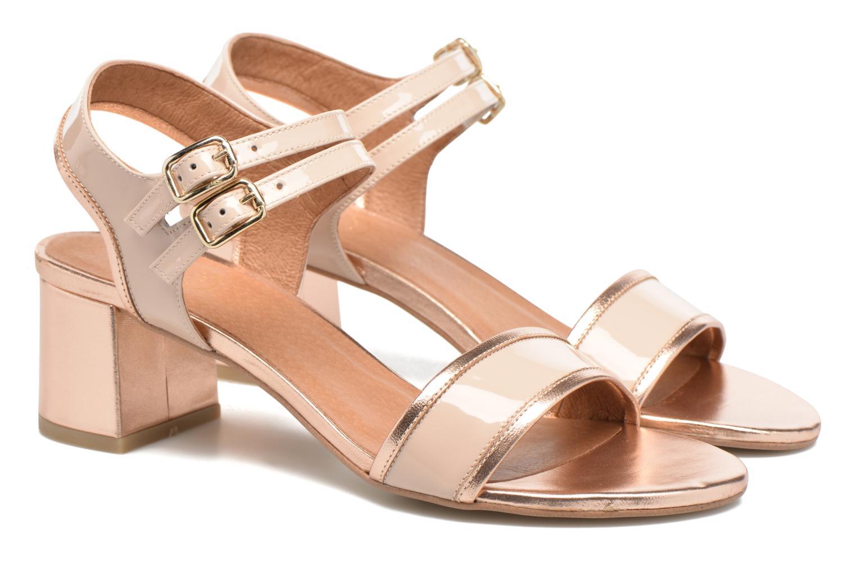 Sandales et nu-pieds Made by SARENZA Pastel Belle #11 Rose vue derrière
