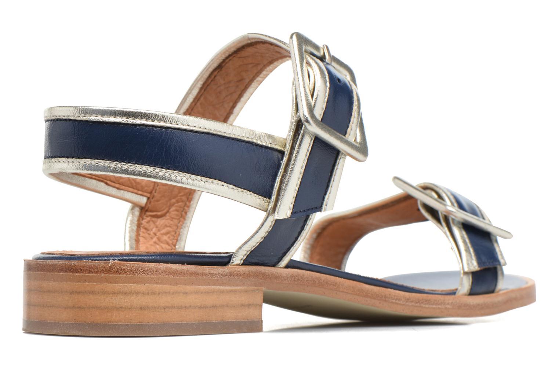 Sandalias Made by SARENZA Pastel Belle #3 Azul vista de frente