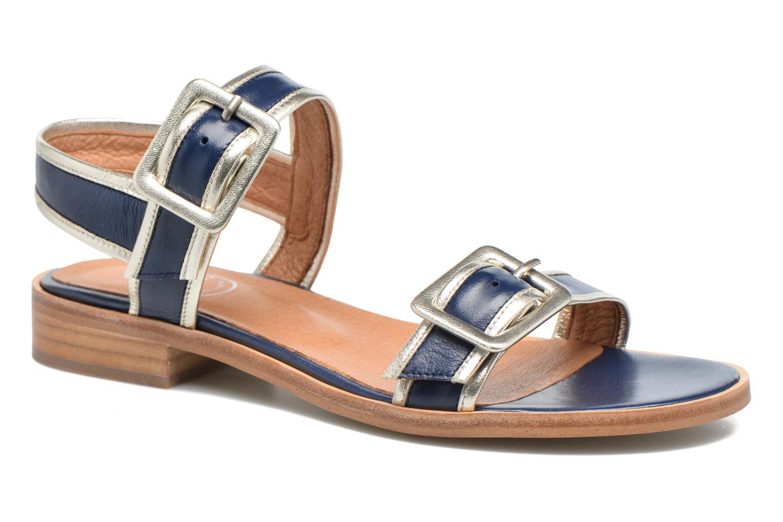 Sandalias Made by SARENZA Pastel Belle #3 Azul vista lateral derecha