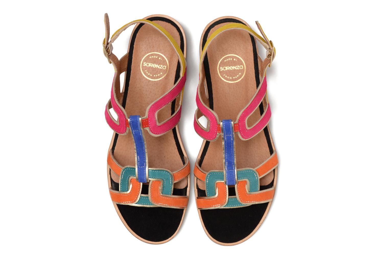 Sandales et nu-pieds Made by SARENZA Frida Banana #3 Multicolore vue portées chaussures