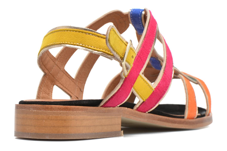 Sandales et nu-pieds Made by SARENZA Frida Banana #3 Multicolore vue face