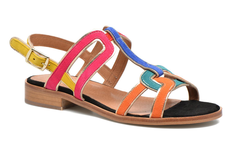 Sandales et nu-pieds Made by SARENZA Frida Banana #3 Multicolore vue droite