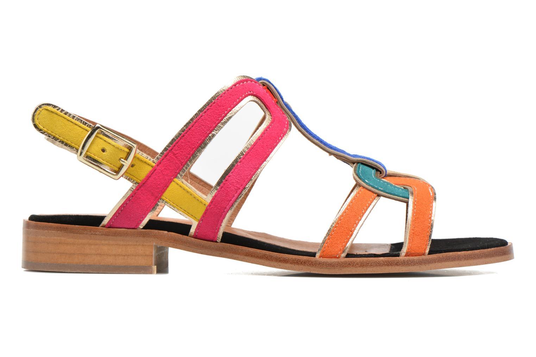 Sandales et nu-pieds Made by SARENZA Frida Banana #3 Multicolore vue détail/paire