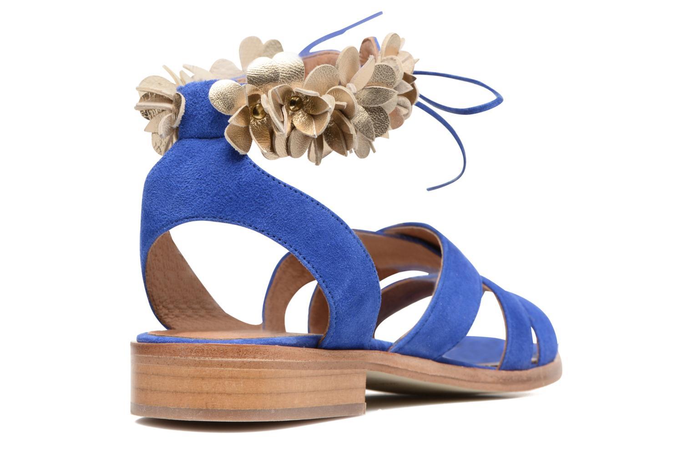 Sandales et nu-pieds Made by SARENZA Frida Banana #5 Bleu vue face
