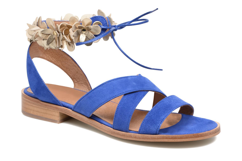 Sandales et nu-pieds Made by SARENZA Frida Banana #5 Bleu vue droite