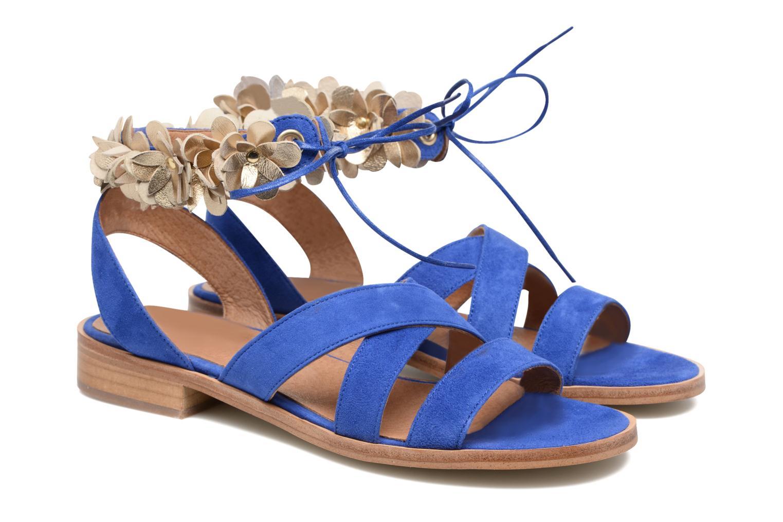 Sandales et nu-pieds Made by SARENZA Frida Banana #5 Bleu vue derrière