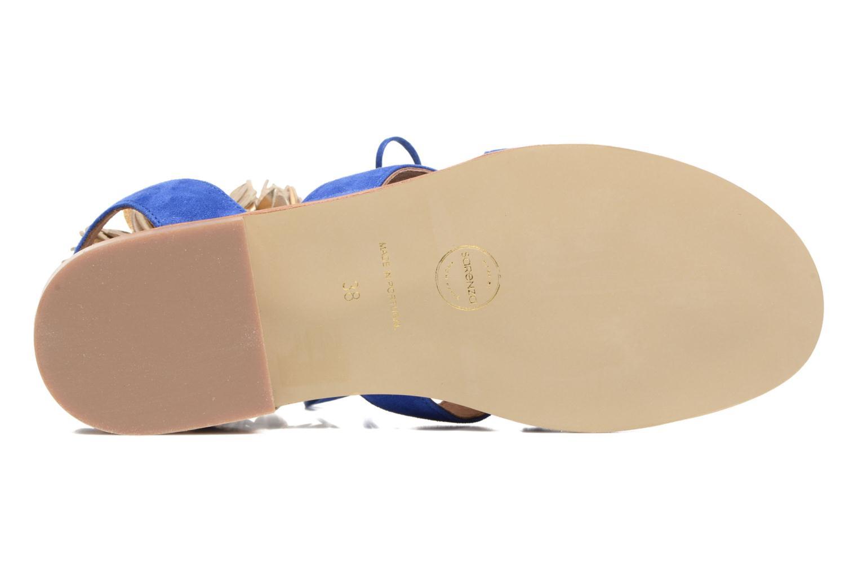Sandales et nu-pieds Made by SARENZA Frida Banana #5 Bleu vue haut