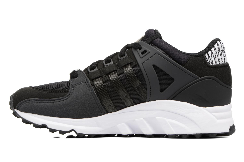 Sneaker Adidas Originals Eqt Support J schwarz ansicht von vorne