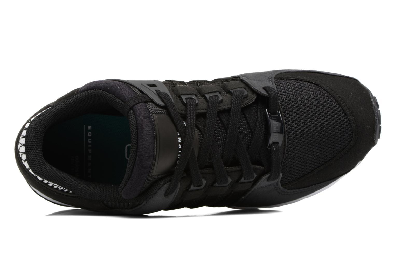 Baskets Adidas Originals Eqt Support J Noir vue gauche
