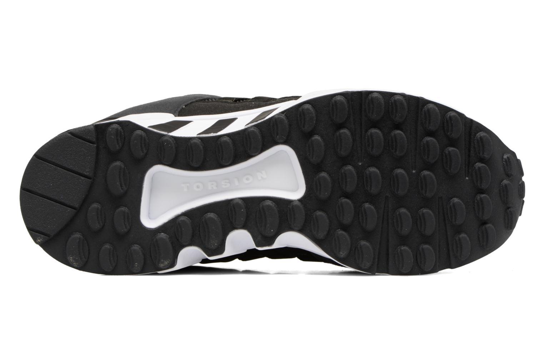 Baskets Adidas Originals Eqt Support J Noir vue haut