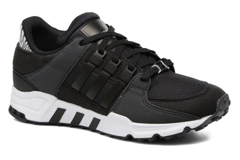 Baskets Adidas Originals Eqt Support J Noir vue détail/paire