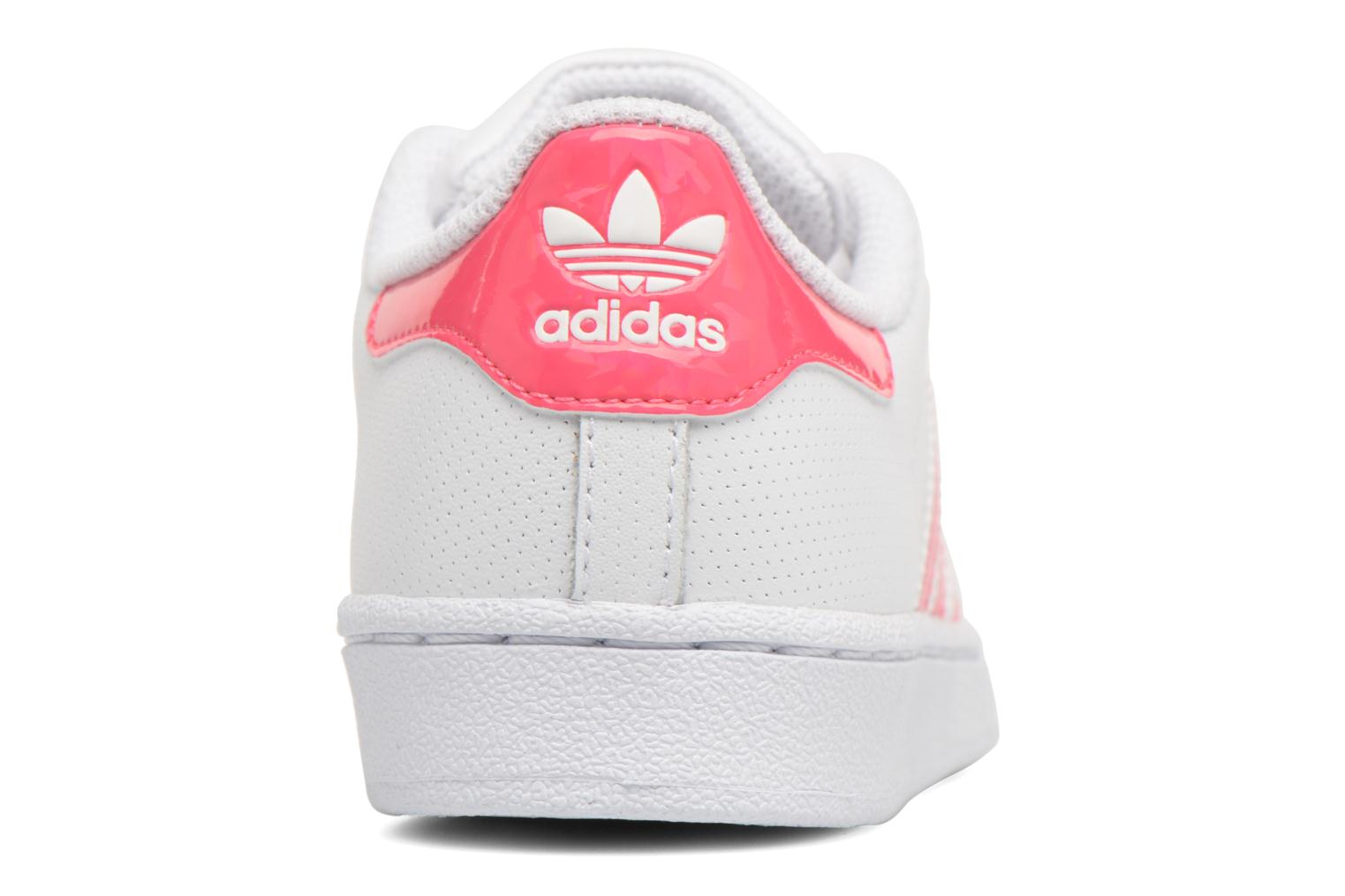 Baskets Adidas Originals Superstar C Blanc vue droite