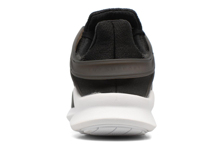 Baskets Adidas Originals Eqt Support Adv J Noir vue droite