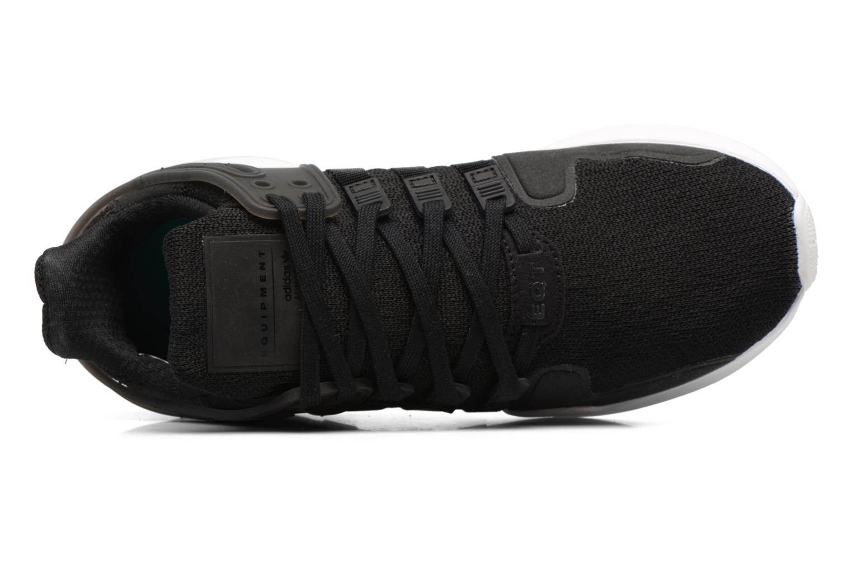 Baskets Adidas Originals Eqt Support Adv J Noir vue gauche