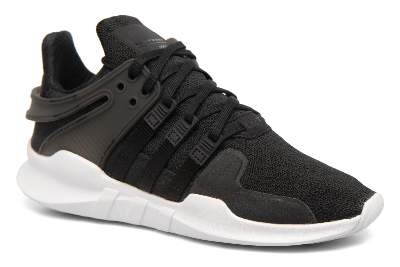 Baskets Adidas Originals Eqt Support Adv J Noir vue détail/paire