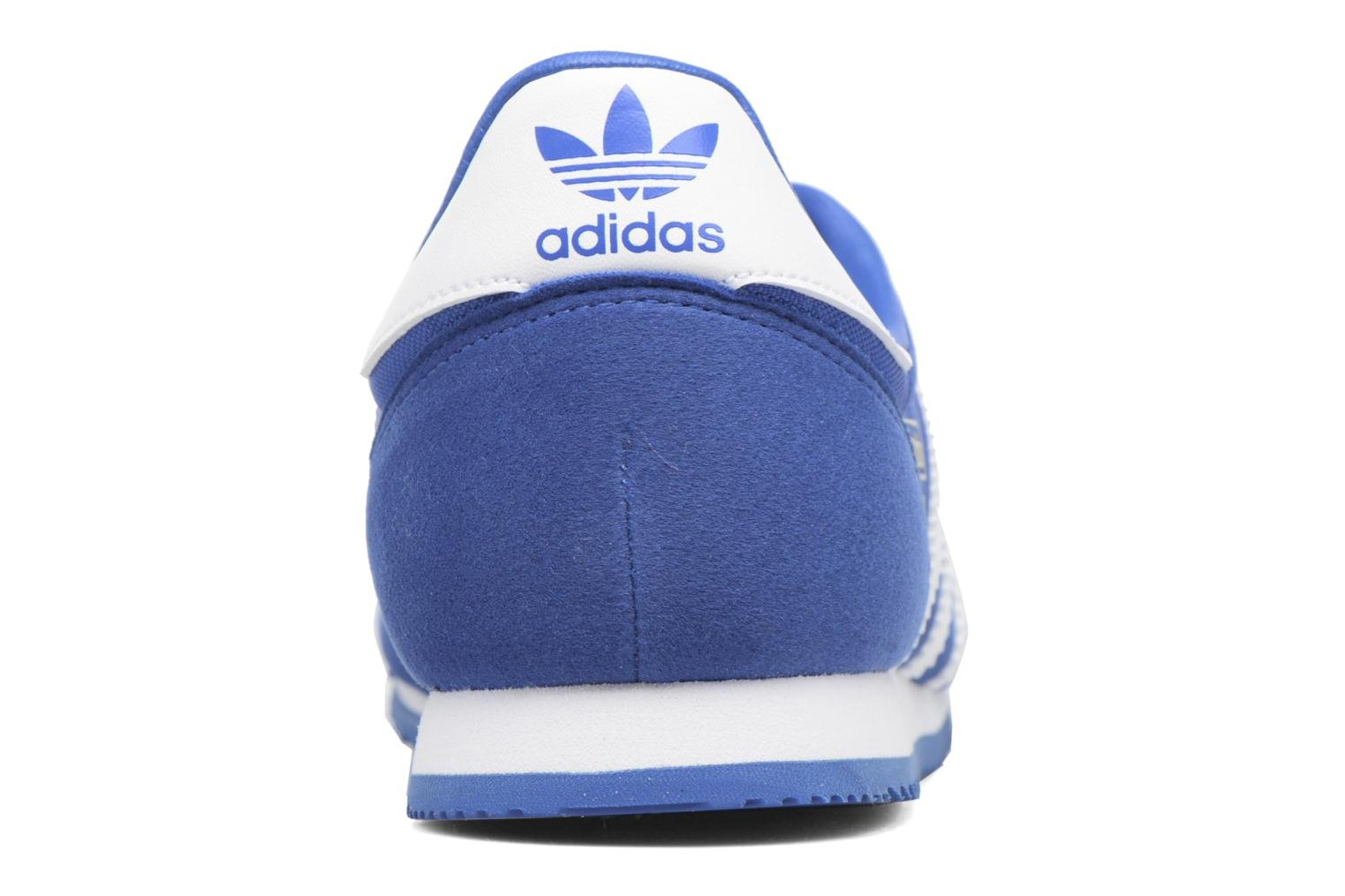 Baskets Adidas Originals Dragon Og J Bleu vue droite