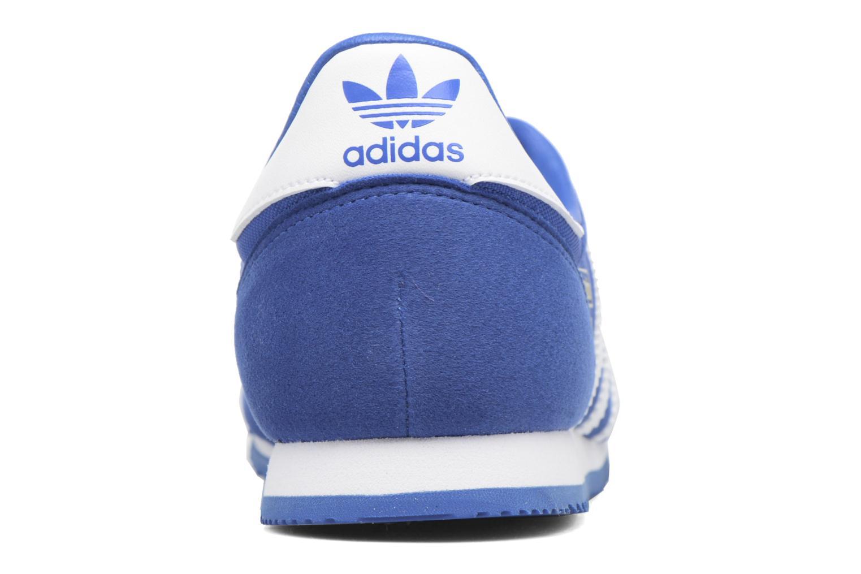 Baskets Adidas Originals Dragon Og J Bleu vue droite