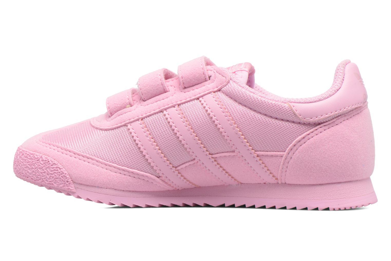 Sneakers Adidas Originals Dragon Og Cf C Rosa immagine frontale