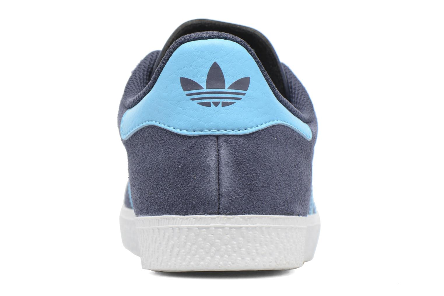 Baskets Adidas Originals Gazelle J Gris vue droite