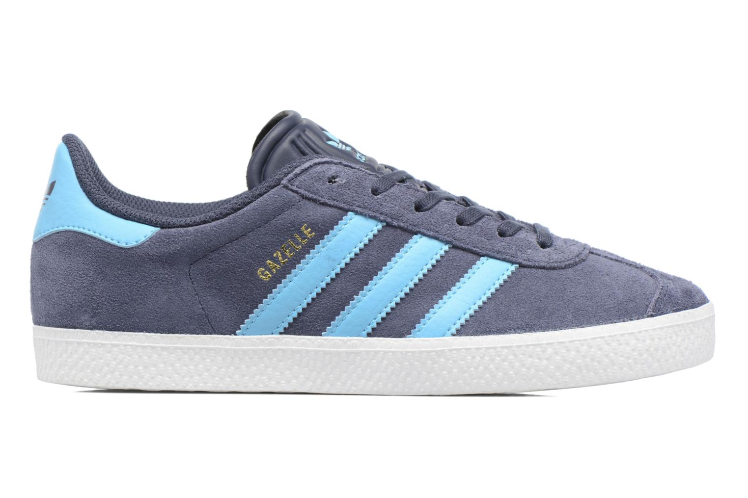 Baskets Adidas Originals Gazelle J Gris vue derrière