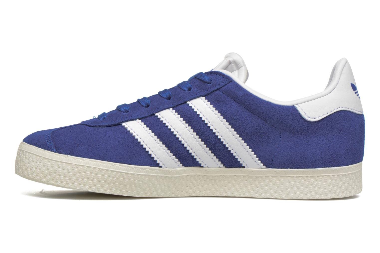 Baskets Adidas Originals Gazelle C Bleu vue face