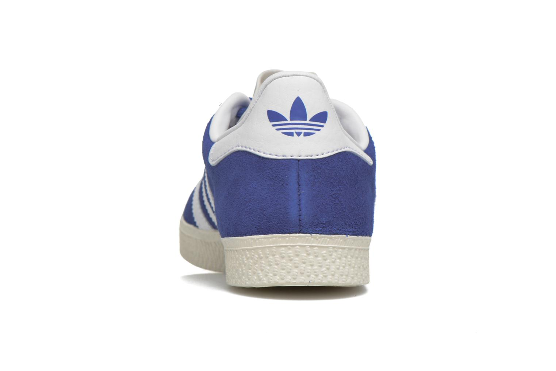 Baskets Adidas Originals Gazelle C Bleu vue droite