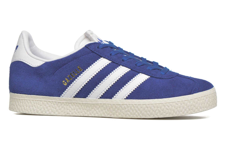 Baskets Adidas Originals Gazelle C Bleu vue derrière