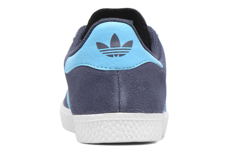 Baskets Adidas Originals Gazelle C Gris vue droite